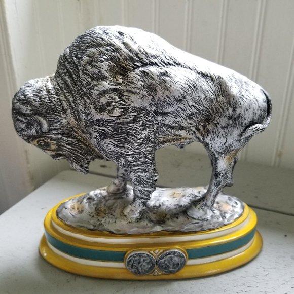 The Spirit of the West Buffalo Sculpture - EUC